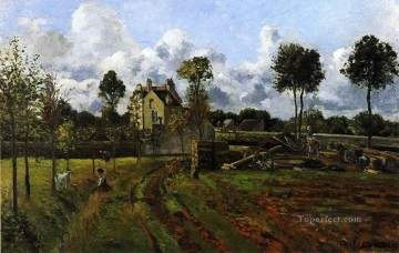 landscape at pontoise Camille Pissarro Oil Paintings